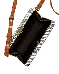 Vc Signature - Brown Mina Spotted Combo Crossbody Bag - Lyst