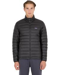 Patagonia - Black Down Sweater Jacket for Men - Lyst