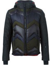 Moncler Grenoble - Gray 'herault' Padded Jacket for Men - Lyst