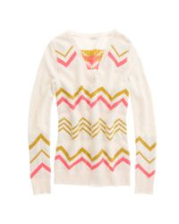 Madewell - White Ski Slope Sweater - Lyst