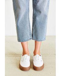 Vans - White Era Gumsole Shoe - Lyst