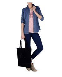 Napapijri | Blue Long Sleeve Shirt | Lyst
