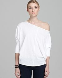 Velvet By Graham & Spencer | White Top - Joss Dolman | Lyst