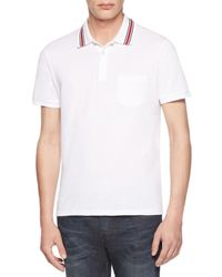 Gucci - White Cotton-jersey Polo Tee for Men - Lyst