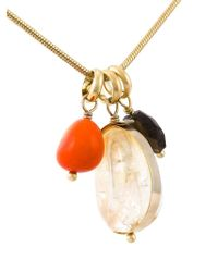 Isabel Marant | Metallic 'honey' Sautoir Necklace | Lyst
