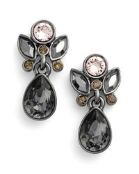 Givenchy   Metallic Small Jeweled Drop Earrings   Lyst