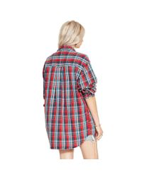 Denim & Supply Ralph Lauren - Red Plaid Rl Big Shirt - Lyst