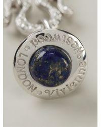 Vivienne Westwood - Blue Orb Pendant Necklace - Lyst