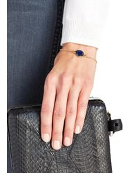 Marc By Marc Jacobs | Logo Disc-o Blue Enamel Bracelet | Lyst