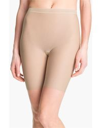 Wacoal - Natural 'smooth Complexion' Mid-thigh Shaper Briefs - Lyst