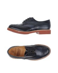 Tricker's - Blue Lace-up Shoes for Men - Lyst