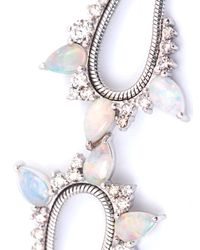 Fernando Jorge | Metallic Diamond, Opal & Gold Electric Bracelet | Lyst