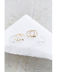 Urban Outfitters | Multicolor Age Of Bronze Ring Set | Lyst
