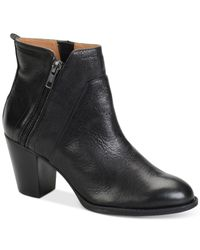 Söfft | Black West Ankle Booties | Lyst