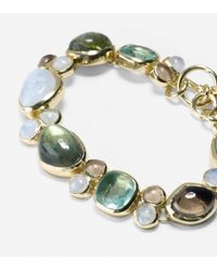 Cole Haan - Green Semi Precious Flex Bracelet - Lyst