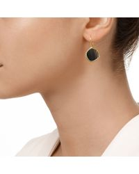 Monica Vinader - Black Atlantis Gem Earrings - Lyst