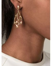 Shaun Leane | Metallic 'hawthorn' Citrine Earrings | Lyst
