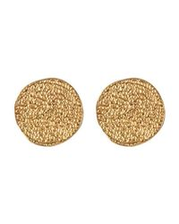 Karen Kane | Metallic Sandy Beach Stud Earrings | Lyst