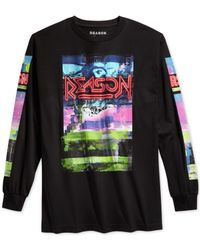 Reason | Black Armageddon T-shirt for Men | Lyst
