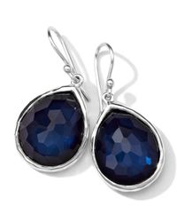 Ippolita | Blue Wonderland Quartz/pyrite Teardrop Earrings | Lyst