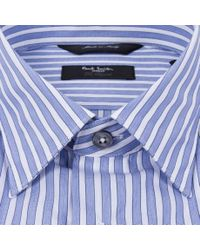 Paul Smith - Blue Wide Stripe Byard Shirt for Men - Lyst