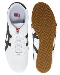 Onitsuka Tiger - White Tai Chi Leather Plimsolls for Men - Lyst