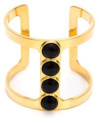 Lizzie Fortunato - Yellow 'pebble' Bracelet - Lyst