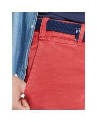 Polo Ralph Lauren - Red Straight-fit Maritime Short for Men - Lyst