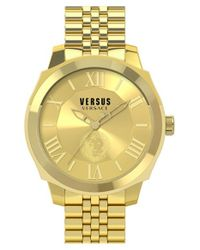 Versus | Metallic 'chelsea' Bracelet Watch | Lyst