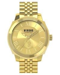 Versus | Metallic 'chelsea' Bracelet Watch | Lyst