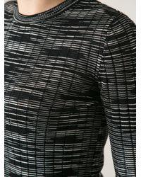 M Missoni | Black Bouclé Woolblend Cardicoat | Lyst
