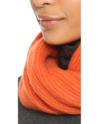 Rag & Bone - Orange Cynthia Cashmere Scarf - Lyst
