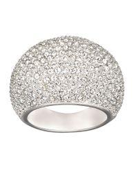 Swarovski | Metallic Stone Crystal Ring | Lyst