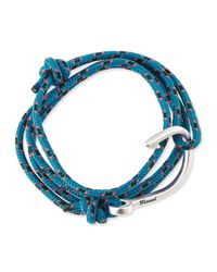 Miansai - Blue Hook Rope Bracelet for Men - Lyst