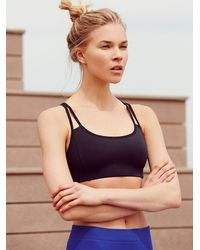 Free People | Black O Bra | Lyst