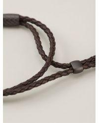 Bottega Veneta | Brown Braided Bracelet | Lyst