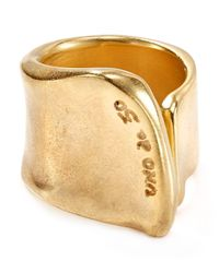 Uno De 50 - Metallic The Crevice Ring - Lyst