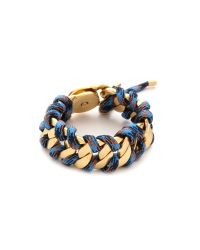 Marc By Marc Jacobs - Corded Katie Bracelet Blue Multi - Lyst