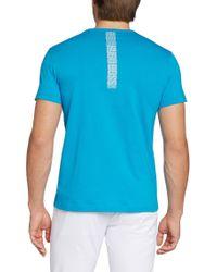 BOSS Green | Blue Cotton T-shirt 'tee 3' for Men | Lyst