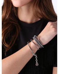 DIESEL - Metallic Abryty Bracelet - Lyst