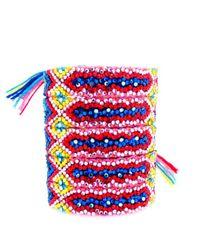 Doloris Petunia | Multicolor Swarovski Crystal Friendship Bracelet, Primary Azalea | Lyst