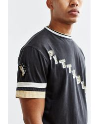 Urban Outfitters - Black Pittsburgh Penguins Hockey Tee - Lyst
