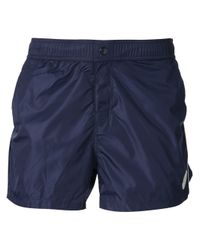 Moncler - Blue Mazzarelli Swim Shorts for Men - Lyst