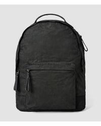 AllSaints - Black Pax Rucksack for Men - Lyst