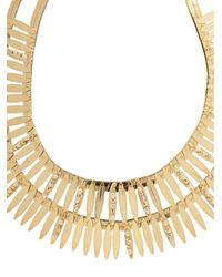Rosantica By Michela Panero | Metallic Tribu Double-Layer Pearl-Embellished Necklace | Lyst