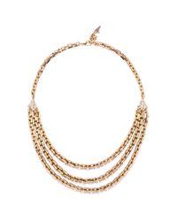 Lulu Frost - Metallic Poison Long Necklace - Lyst