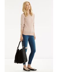 Oasis   Natural The Textured Knit   Lyst