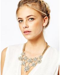 Coast - Metallic Queenie Necklace - Lyst