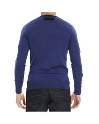 Patrizia Pepe - Blue Sweater for Men - Lyst