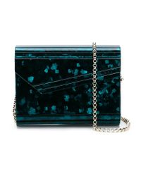 Jimmy Choo - Blue 'candy' Clutch - Lyst